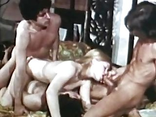 Retro Hairy Gal Gets Fucked - 1970s