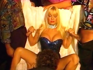 Breasty Antique Pornographic Star Has Crazy 4some Bang-out With Three Guys