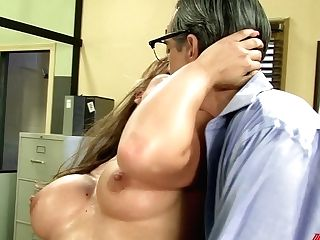 Nerdy Assistant In Glasses Andy Revved To Be Very Hot And Insatiable