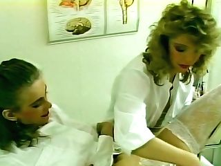 Hotty Gets A Trim From A Nurse